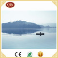 Lake Wooden Canvas Painting for Home Decoration,Beautiful Art Decoration