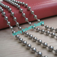 Silver Metal Bead Belt Chain