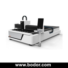 bodor hot sale 500w 1000w 1500w ipg fiber steel stainless steel tube laser cutter with rotary