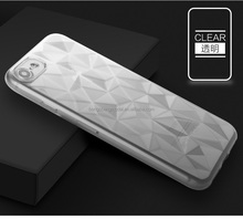 Wholesale Ultra Thin Transparent Clear Diamond lines Slim Soft TPU Cell Phone Case for Nokia 3 5 7 9