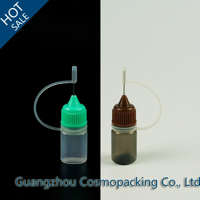 10ml 20ml 30ml Empty Plastic needle tip cap Dropper Bottle for e liquid