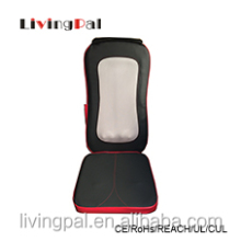 heating shiatsu back cushion with stone massage heads