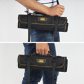 new style coiling block tool bag with handle and belt