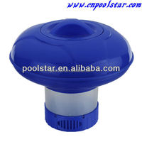 "P1990 Floating Pool Chlorinator Expandable Chemical Dispenser for 1-1/2"" Tablets swimming pool on sale sparkling water"