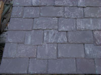 Vermont Mountain Plum Roofing Slate