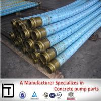 Putzmeister/Schwing/Sany /Zoomlion steel wires concrete pump rubber hose