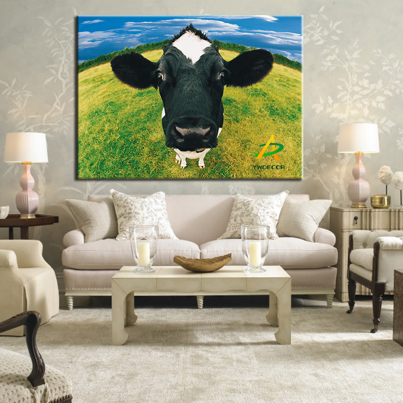 Modern Art canvas print Painting dairy cow Painting on Canvas Painting for home decoration