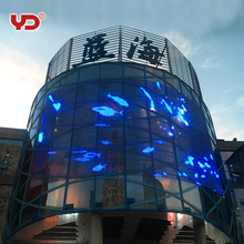 outdoor IP68 fireproof anti uv led dot displaying light for building and decoration
