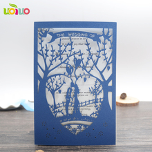 wedding decoration materials laser cut holiday supplies wedding favors gifts souvenirhot wedding invitation card