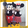 New adults mickey minnie character mouse mascot costume