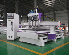 cylinder woodworking machine ,CNC ROUTER with 7.5KW vacuum pump