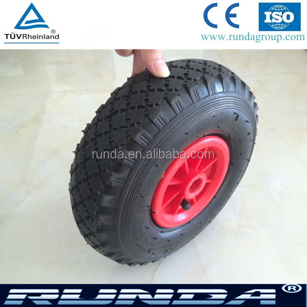 anti rust platic rim wheel for beach cart
