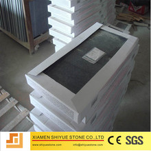 China Polished Sesame Black Granite G654