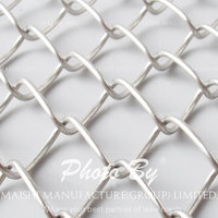 galvanized diamond chain link fencing