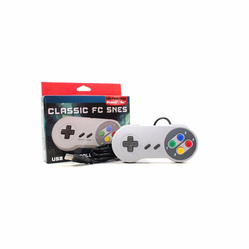 For SNES Game Controller USB Wired Controller For Super Nintendo