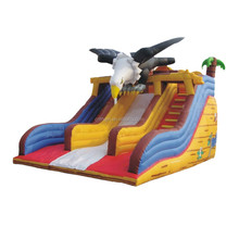 2015 christmas gift cheap commercial giant inflatable slide, inflatable jumping slide for sale