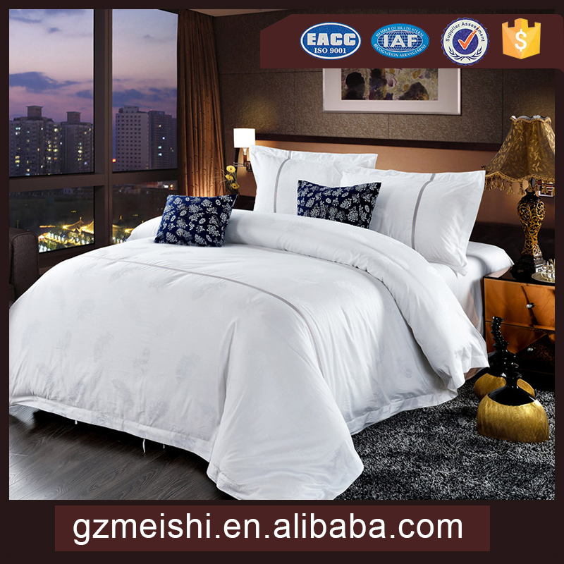 100% cotton custom Hotel bedding sets & Hotel bed Linen& Hotel Textile