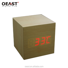 Factory Wholesale Wooden Stand Outdoor Table Alarm Clock