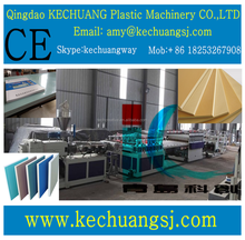 sheet extrusion line/pvc wpc crust foamed board machine