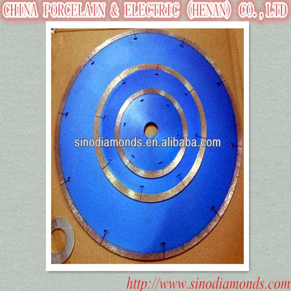 welded ceramic tile cutting diamond saw blade without chipping the tile
