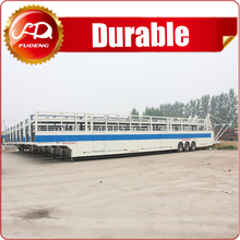Double axle car transport truck trailer for auto's carrier