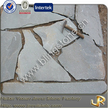 Natural grey slate decorative flagstone outdoor
