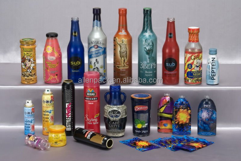 PET PRINTED SHRINK LABEL shrink wrapping label shrink label film for printing