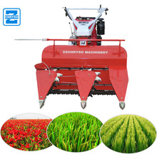 Advanced factory price grain reaper binder/wheat reaper /mini rice paddy cutting machine