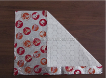 Burger wrapping aluminum paper