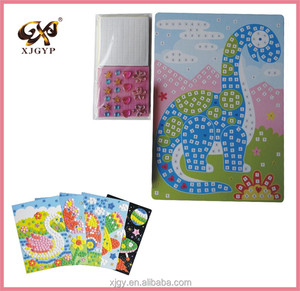 Factory Price EVA Glitter Mosaic Stickers For Kids