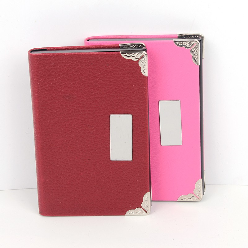 Xinghao purse shape lady ID card and passport holder,Aluminium with pattern pu name card holder