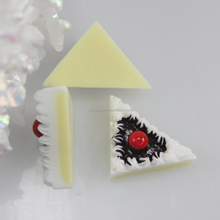 22*16*10MM trilateral artificial resin cakes no hole charm beads