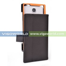 New patented products with CAMERA FRAME Leather stand protective case for Archos 50 Platinum Archos 50 cover