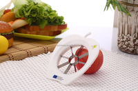 Good-looking Colorful Hot sale Apple Cutter in plastic handle