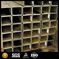 Rectangular Hollow sections chinese galvanized steel rectangular tube /pipe products for buildings materials ms square tube