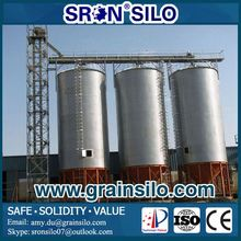 Hot Galvanized Grain Storage Silo With Cone/Hopper Bottom