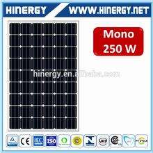 Off -Grid 250w 60 cell solar photovoltaic module bluesun 250w panels