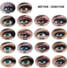 Meetone Hidrotone Super Natural 18 Colors Wholesale Yearly soft contact lenses