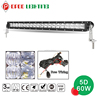 Auto offroad 20inch 60w 12v truck led lighting bars
