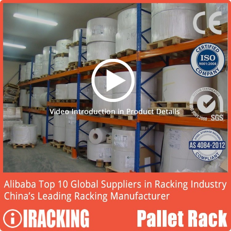 iRacking Adjustable Retail Shelving Pallet Racking System For Sale