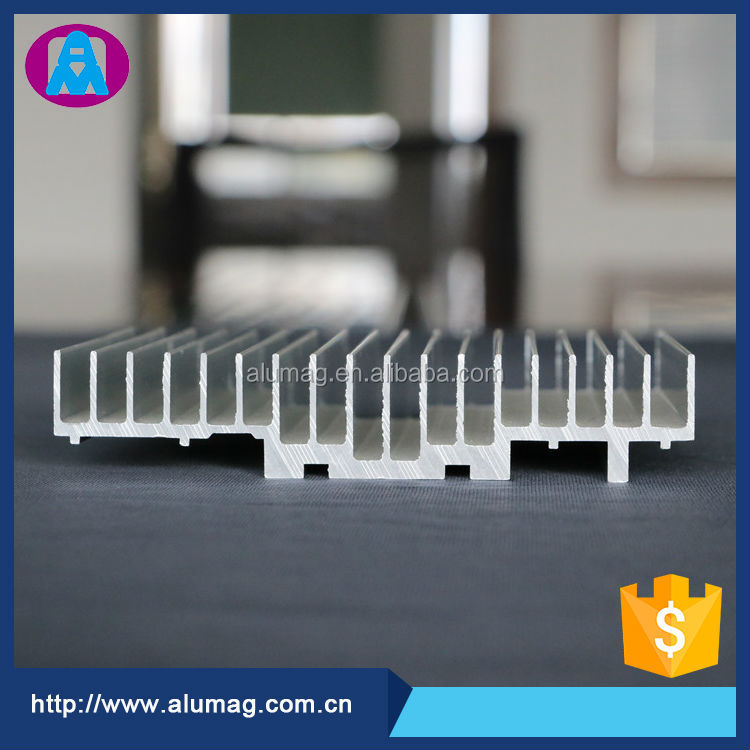 long pin fin aluminum heatsink rectangular aluminum extrusions