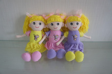 ICTI factory plush material stuffed beautiful dolly toy