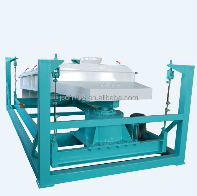 rotary screener screening machine