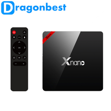 X96 Pro Xnano S905X 2G 16G arabic iptv box dvb-c android tv made in China Android 6.0 TV Box