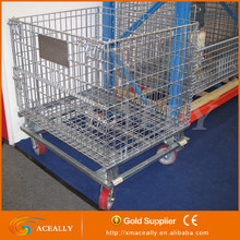 50mm*50mm Mesh grid Wire and Metal Containers for storage systems