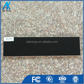 100x400mm Black Balcony Matte Royal Ceramic Tile