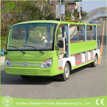 2017 hot sale 23passengers China battery power electric bus used for park or school