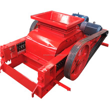Factory price roller crusher, mini tooth roller crusher for coconut shell