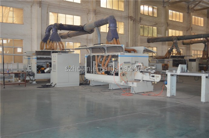 High Precision Solid Wood Parquet Flooring Production Line