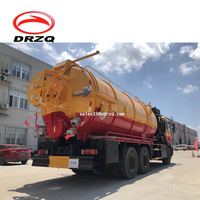 Dongfeng 16000L vacuum car trucks sewage suction truck for sale
